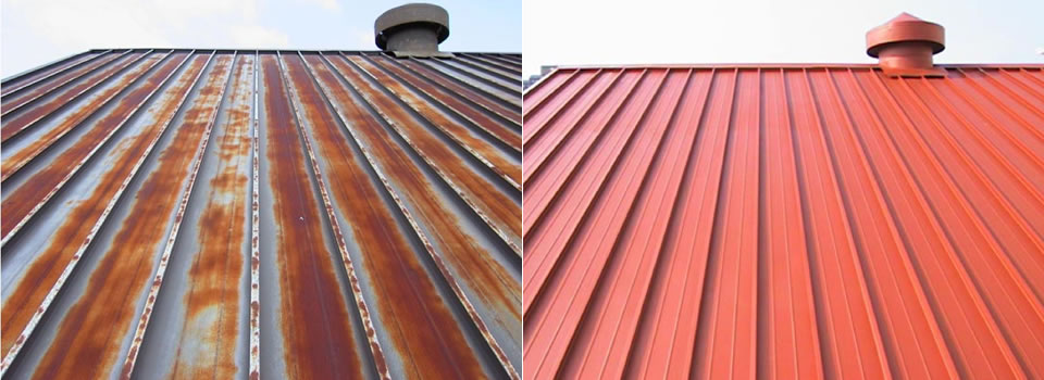 Metal Roof Roof Paint For Metal Roofs